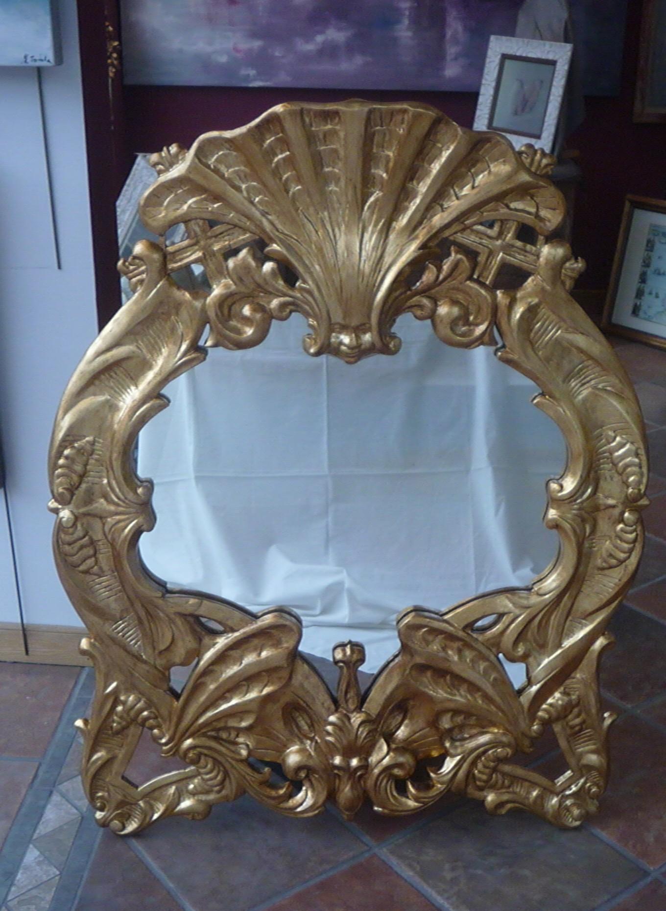 Recuperando el brillo de un marco barroco – Cuadros Trazo