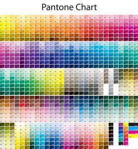 Colores Pantone. 1867 colores en la carta.