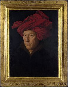 portrait_of_a_man_in_a_turban_jan_van_eyck_with_frame